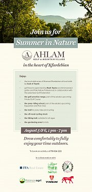 Ahlam Golf and Mountain village -Activity Days