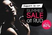 RUD Summer Sale