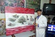Lebanese Roots by Artist Bernard Renno