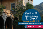 Go Rural, To Maasser El Chouf