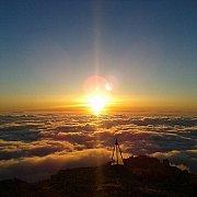 Sunset hike from the Cedars to Hasroun