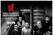 Meen, the band in Concert at Souk el Akel