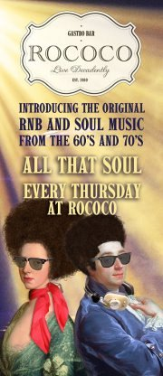 All that Soul - Every Thursday at Rococo