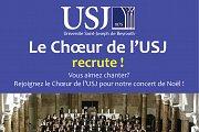 USJ Choir Recruits New Singers!