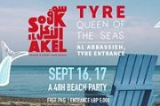 The Last Beach Party of Summer; For the First Time in Tyre