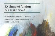 Rythme et Vision | Solo Exhibition by Renee Fawaz