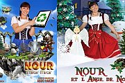 Nour Mirroir Mirroir & L'Ange De Noel - Play for children