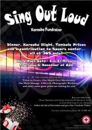 """SING OUT LOUD"" Karaoke Dinner Fundraiser by Lebanese Red Cross - Youth Department - Spears Center"