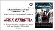 Ciné avant-première Anna Karenina