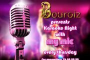 Karaoke @ Bouroiz every Thursday