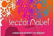 Karaoke Night at Seccar Nabet every Thursday