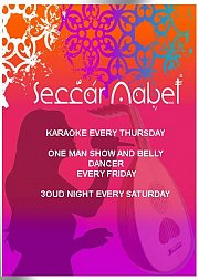 Karaoke Night at Seccar Nabet every Thursday