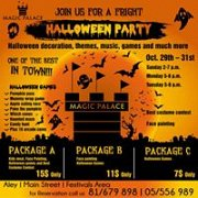 Halloween Party Packages.Halloween Party Lebtivity