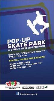 Pop-up Skate Park @ Waterfront