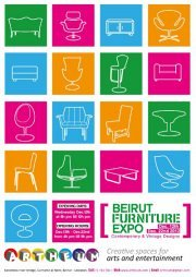 Beirut Furniture Expo [Contemporary & Vintage Designs]
