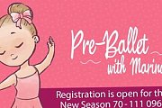 Pre-Ballet with Marina @ Talent Square The Village Dbayeh