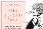 Manga Illustration Course with Bloo