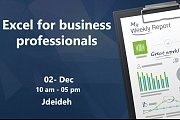 Excel for Business professionals (data analysis & dashboards)