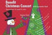 Ayadina Benefit Christmas Concerts