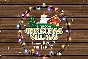 Christmas Village 2017 at Arnaaoon