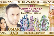 New Year's Eve 2018 at Crowne Plaza Beirut