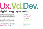 UxVdDev Digital Design Symposium