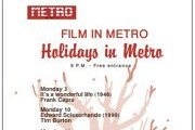 Holidays in Metro: A Cinema - Theater Experience