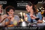 Thursdays Raclette & Fondue at Pool D'etat