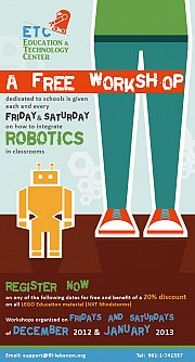 FREE Workshops on Robotics