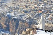 Snowshoeing from Arz Bcharre to Bekaa Kafra