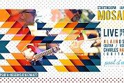 Mosaic band live at Pool D'etat