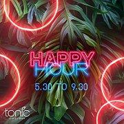 Happy Hour at Tonic Café Bar