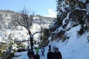 Snowshoeing Ehden Reserve with Promax