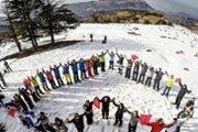 Snowshoeing Shouf Cedar Reserve