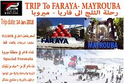 Trip to Faraya and Mayrouba