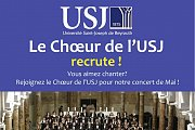 USJ Choir - singers recruitment days