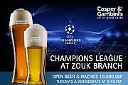 Champions League at Casper & Gambini's