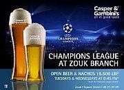 Champions League at Casper & Gambini's