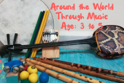 Around the World Through Music Ages 3-5