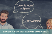 "English Conversation Workshop by ""Just Say It"""