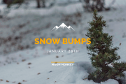 Snow Bumps with Moon Monkey