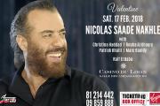 Nicolas Saade Nakhle Celebrating Valentine's Night