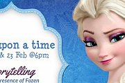 Once Upon a Time Storytelling in the Presence of Frozen