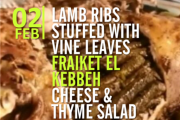 Lebanese Authentic Flavors Cooking Class