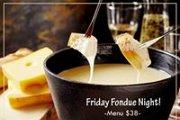 Friday Fondue Night at Starlight Lounge