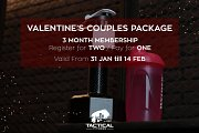 Valentine's at Tactical Fitness