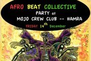Afro-Beat Collective in MOJO Crew Club