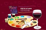 Paint & Sip - The valentine's Edition