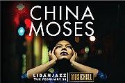 China Moses live at MusicHall