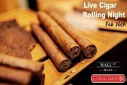 Live Cigar Rolling Night at Wall Street Bar & Grill